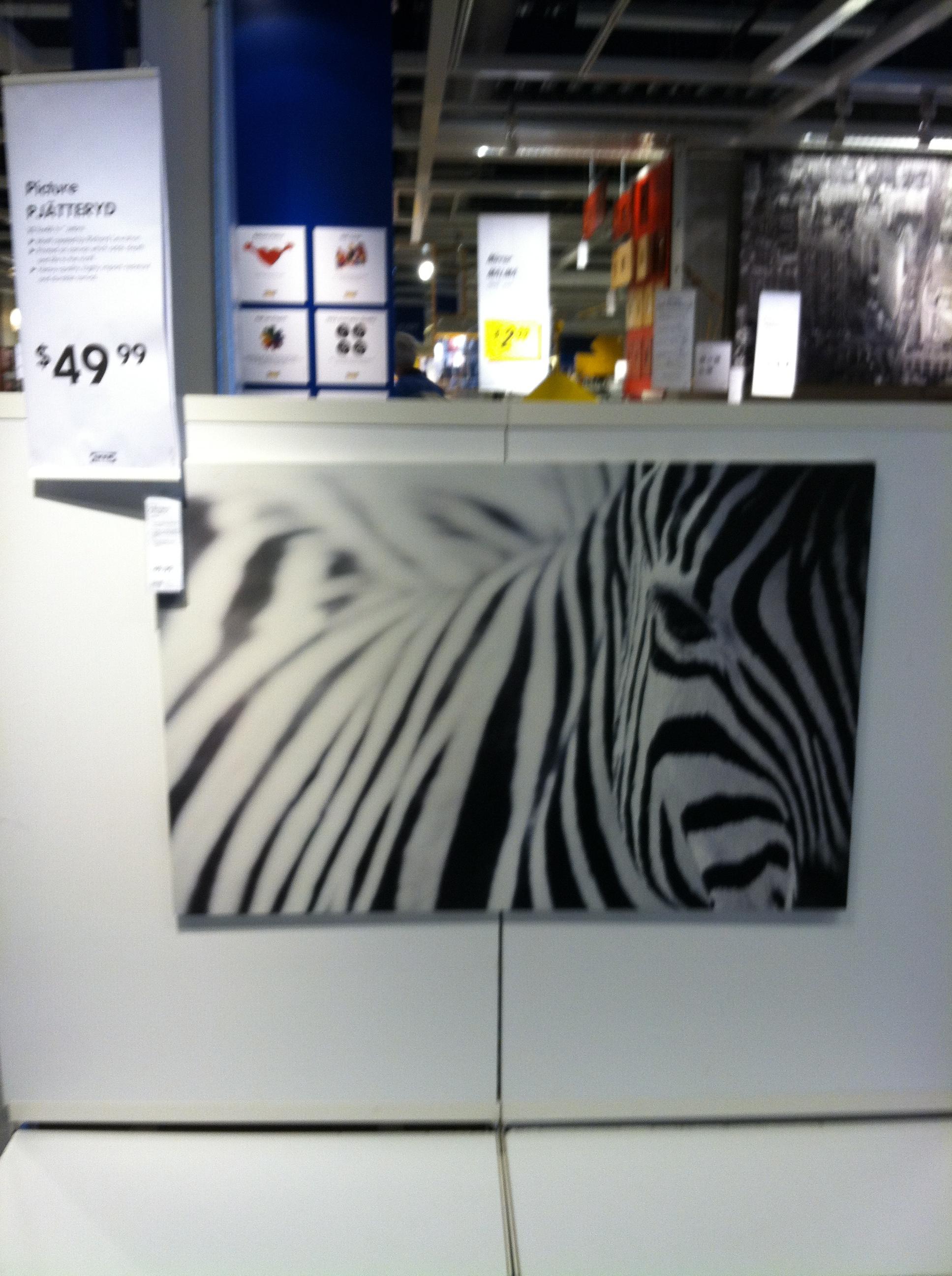 Zebra Painting Ikea Images Galleries